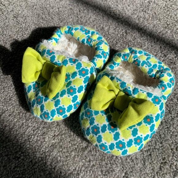 3/$24 Caldia Baby Slippers
